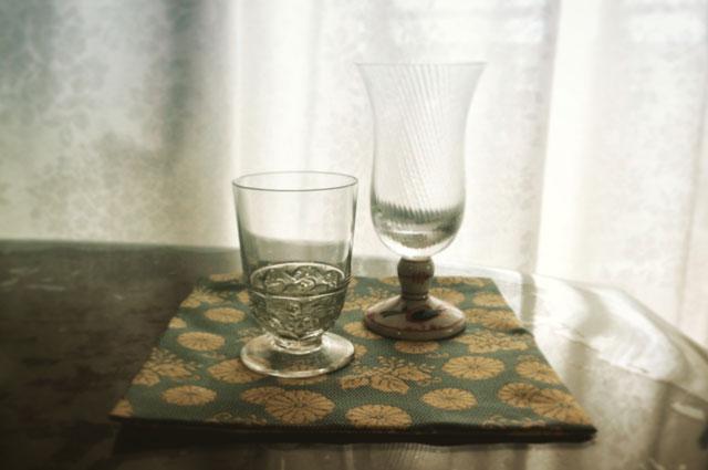 古帛紗 グラス