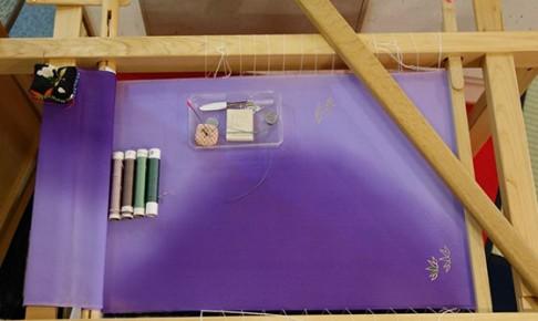 生地張り刺繍台-1