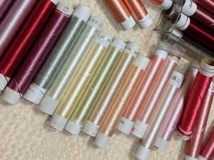 ブログ刺繍糸