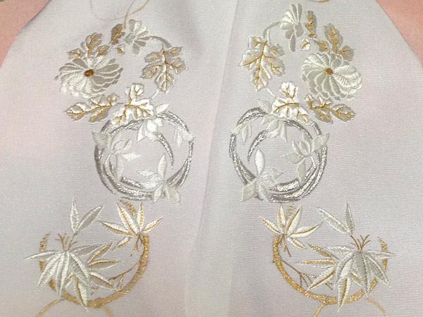 花丸紋半襟