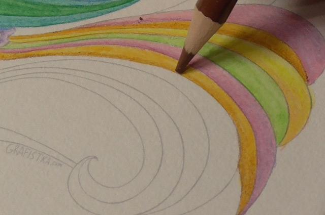色を重ねる−2