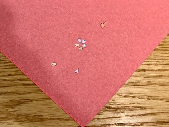 日本刺繍ワークショップ作品6