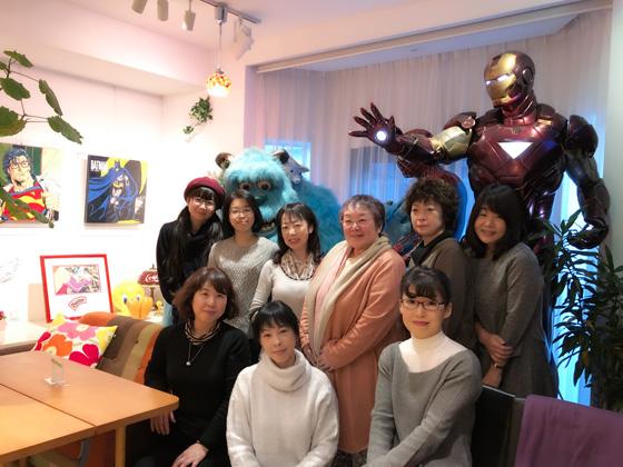 日本刺繍集合写真