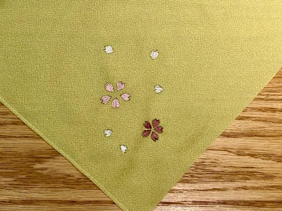日本刺繍ワークショップ作品1