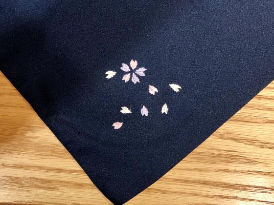 日本刺繍ワークショップ作品2