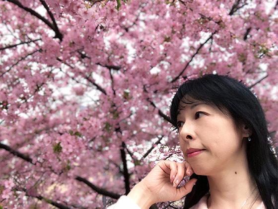 一条戻橋桜と自分