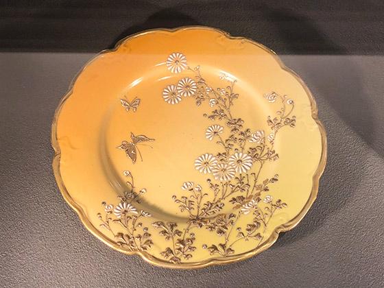 蝶々のお皿