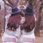シンクロする双子